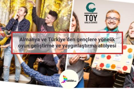 Almanya ve Türkiye'den gençlere yönelik oyun geliştirme ve yaygınlaştırma atölyesi