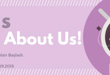 Rönesans Enstitüsü Derneği Let's Talk About Us projesi için katılımcı arıyor!