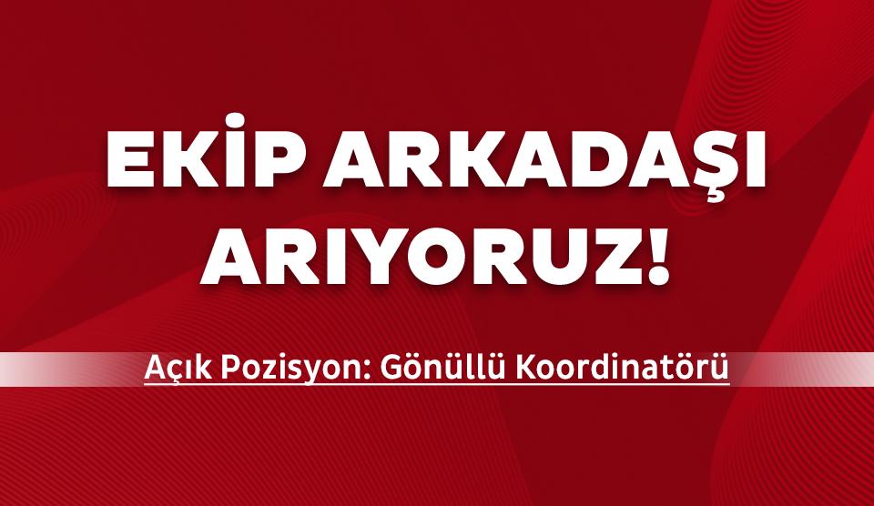 Özel Olimpiyatlar Türkiye Gönüllü Koordinatörü arıyor!