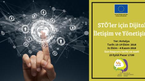 STÖ'ler için Dijital İletişim ve Yönetişim Eğitimine Başvurular Başladı