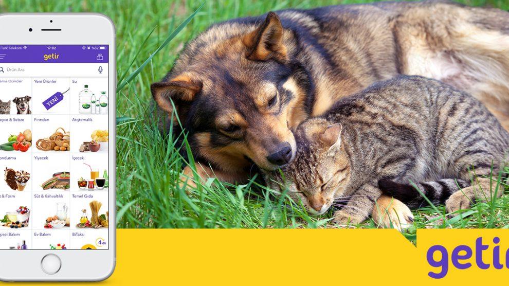 Getir 4 Ekim'de Yine Binlerce Hayvanı Doyuracak!