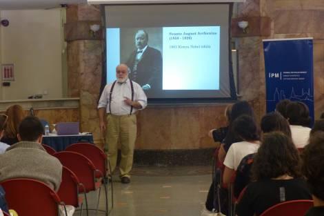 """İPM İklim Kafe Konuşmaları, """"İnsan Kökenli İklim Değişikliğinin Bilimine Tarihsel bir Bakış"""" ile devam etti!"""
