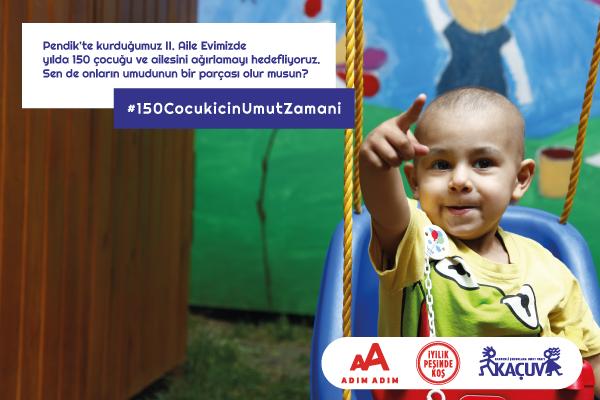Kanserli Çocuklara Umut Vakfı 150 Çocuk İçin Umut Elçilerini İstanbul Maratonu'na Çağırıyor !