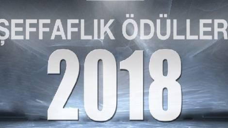 2018 Şeffaflık Ödülleri'ne başvurmak için son gün 2 Kasım!