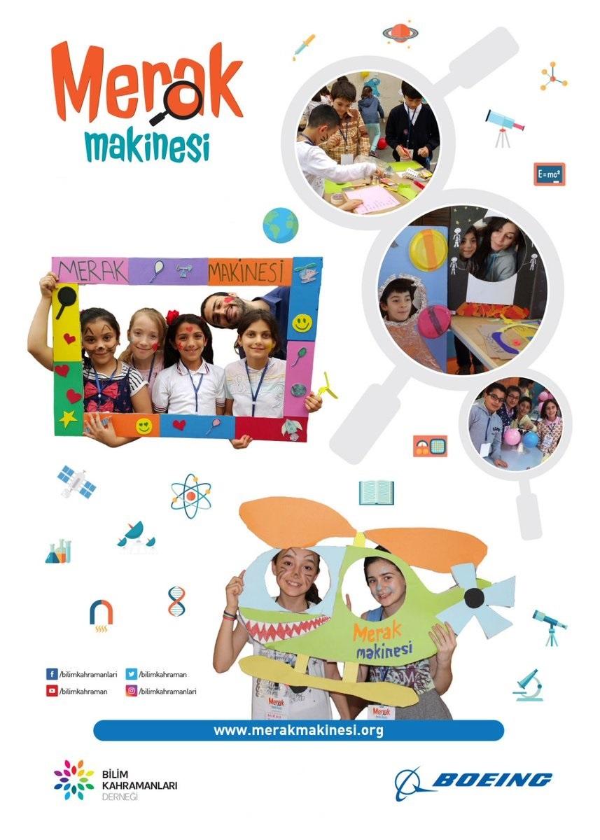 Bilim Kahramanları Derneği, Merak Makinesi projesi için gönüllülerini arıyor!