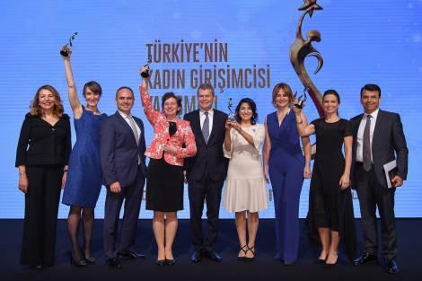 Türkiye'nin Kadın Girişimcisi Yarışması sonuçlandı Türkiye'nin İlham Veren Girişimci Kadınları Ödüllerini Aldı!