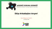 Akdeniz Koruma Derneği Ekip Arkadaşları Arıyor!