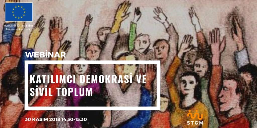 Katılımcı Demokrasi ve Sivil Toplum Webinarı