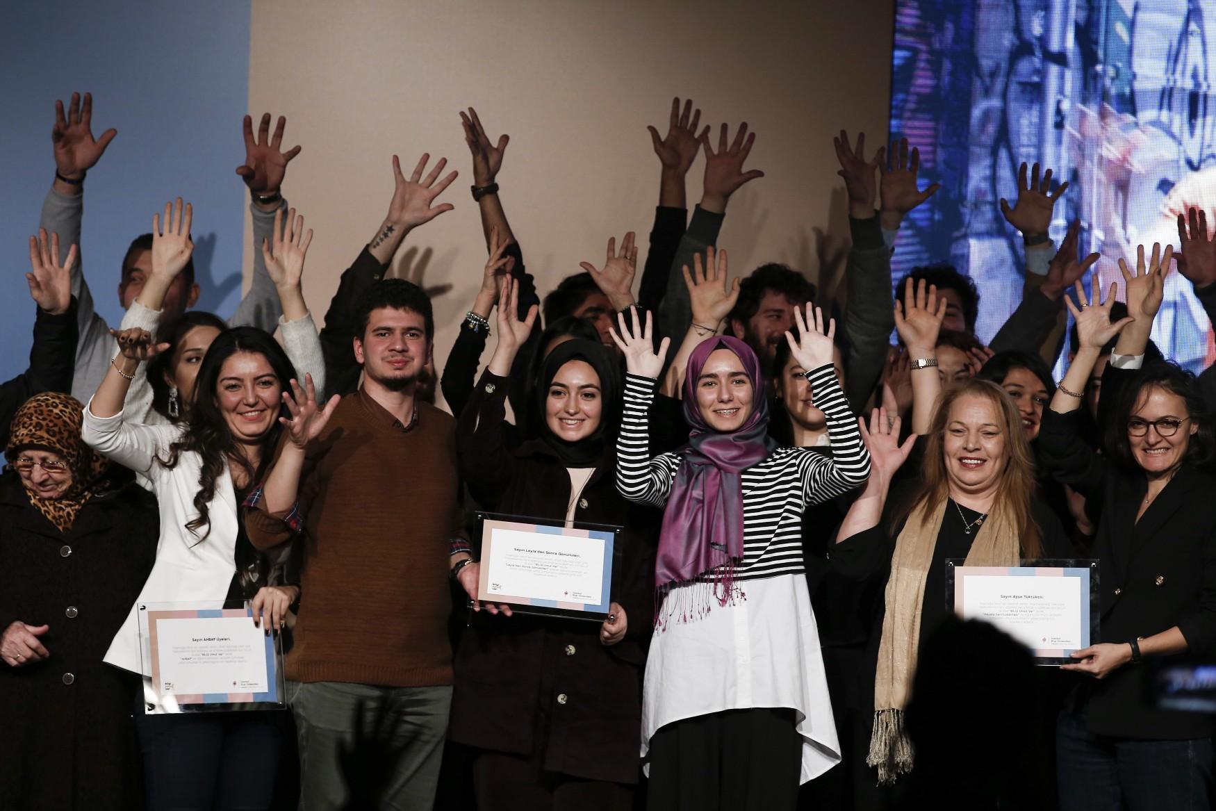 İstanbul Bilgi Üniversitesi BİLGİ Umut Var'ı düzenlendi: İYİLİK VARSA UMUT VAR