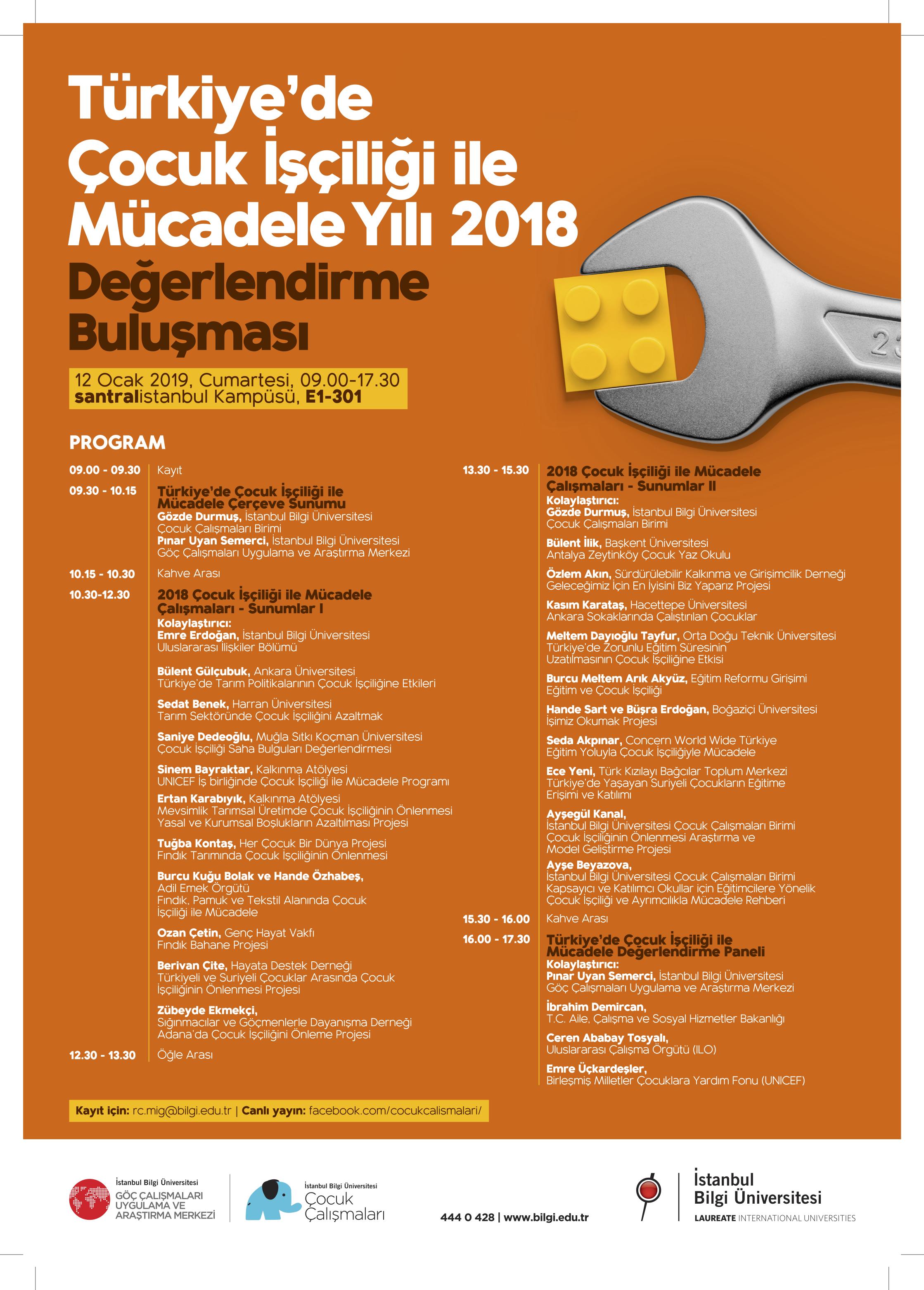 Türkiye'de Çocuk İşçiliği İle Mücadele Yılı - 2018 Değerlendirme