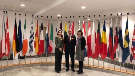 """Tegv Brüksel'de Düzenlenen """"Türkiye'nin Sivil Alandaki Yüzleri - Faces Of Turkey"""" Etkinliğine Katıldı"""