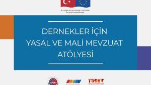Dernekler için Yasal ve Mali Mevzuat Atölyesi 7 Şubat'ta Ankara'da Gerçekleşecek