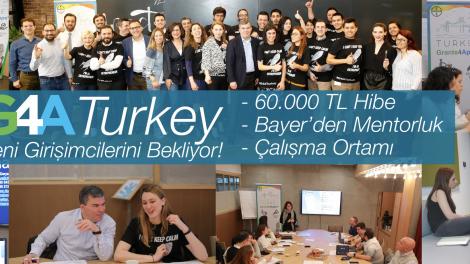 Bayer Girişim Hızlandırma Programı Grants4Apps Turkey 2019 için başvurular başladı !