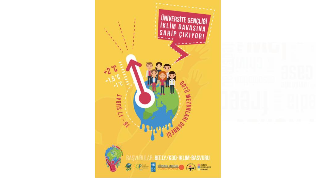 Üniversite Gençliği İklim Davasına Sahip Çıkıyor Projesi Eğitimine Katılmak ister misiniz?