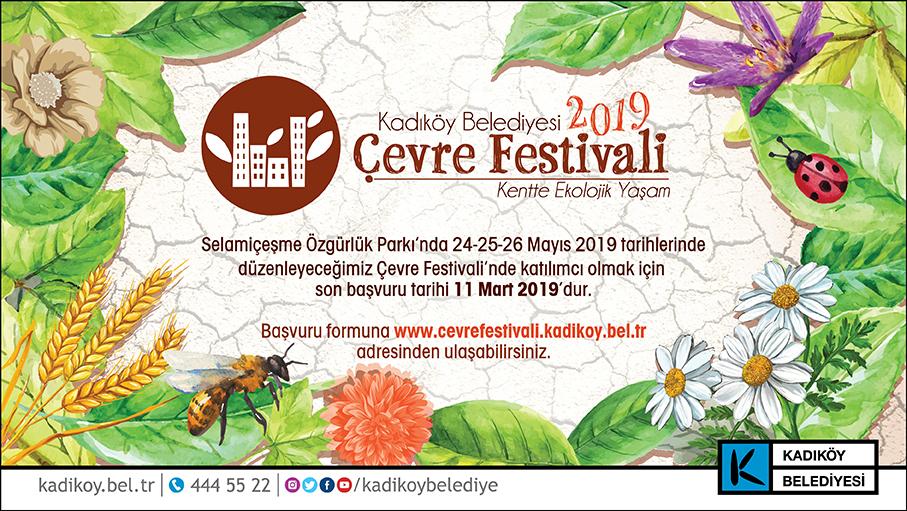 Kadıköy Çevre Festivali'ne Başvurular Başladı!