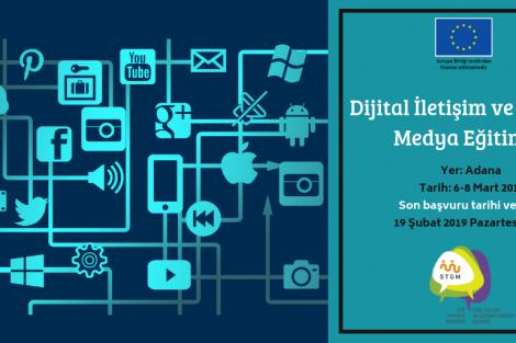 Dijital İletişim ve Sosyal Medya Eğitimi Adana Başvuruları Başladı!