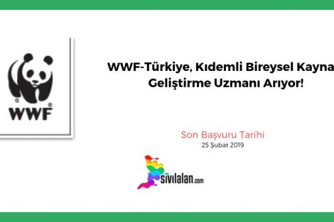 WWF-Türkiye, Kıdemli Bireysel Kaynak Geliştirme Uzmanı Arıyor!