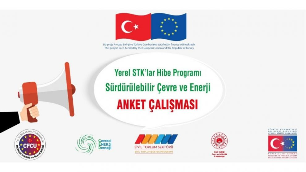 ''Sürdürülebilir Çevre ve Enerji'' Anket Çalışmasına Katılmak İster Misiniz?