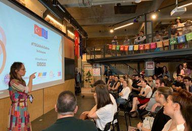 Sosyal Girişim Projeleri #TSGA Açık Sahne'de Ses Buldu!