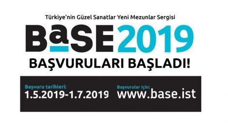 Türkiye'nin Güzel Sanatlar yeni mezunlar sergisi BASE'in 2019 başvuruları başladı! Son başvuru tarihi 1 Temmuz!