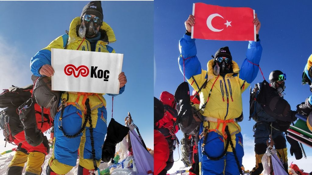 Arçelik İklim Değişikliği Mücadelesini Everest'in Zirvesine Taşıdı!