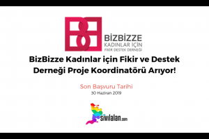 BizBizze Kadınlar için Fikir ve Destek Derneği Proje Koordinatörü Arıyor!
