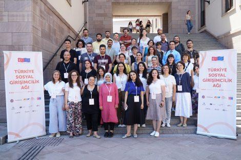 Türkiye Sosyal Girişimcilik Ağı Projesi Kapsamında Sosyal Girişimcilik Eğitimi Verildi