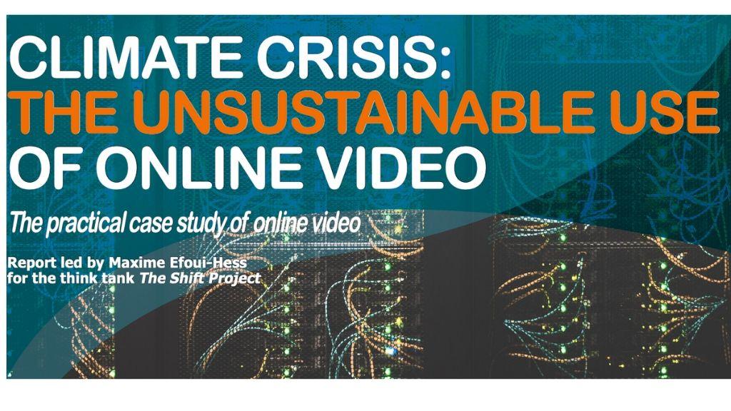 Çevrimiçi Videoların Karbon Ayak İzi hesaplandı!