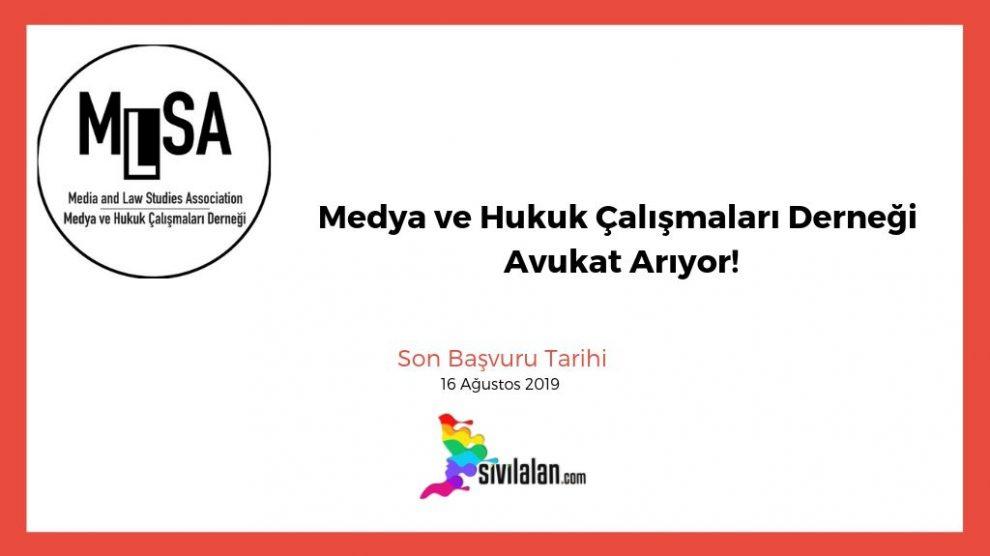 Medya ve Hukuk Çalışmaları Derneği Avukat Arıyor!