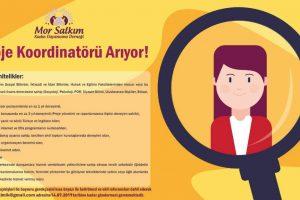 Mor Salkım Kadın Dayanışma Derneği Bursa ilinde ikamet eden veya edebilecek Proje Koordinatörü Arıyor!