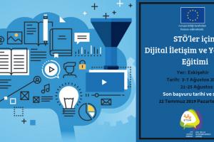 STÖ'ler İçin Dijital İletişim ve Yönetişim Eğitimi Başvuruları Başladı