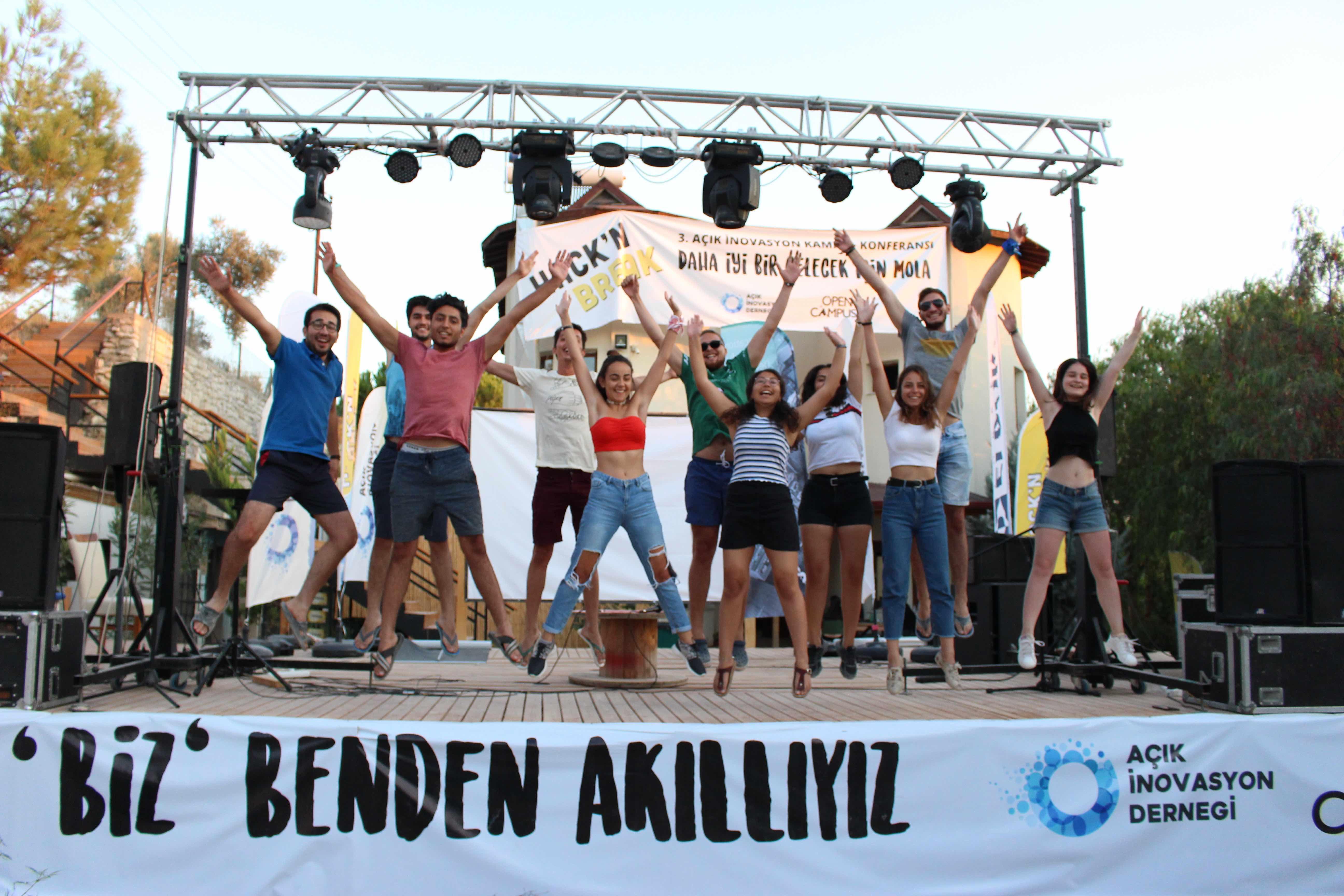 4. HacknBreak: Açık İnovasyon Kampı 24 Ağustos - 1 Eylül tarihlerinde Urla'da Gerçekleşiyor!