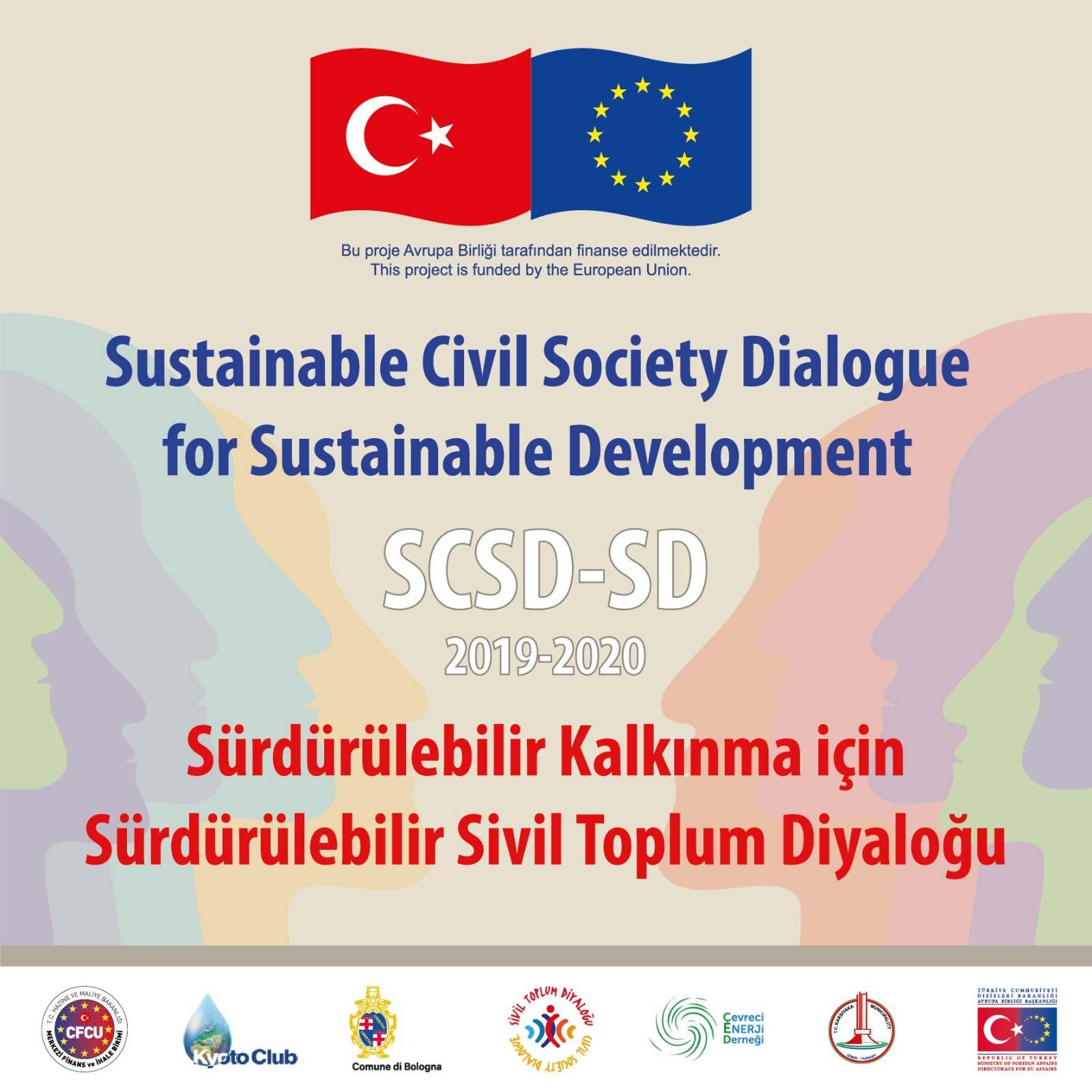 Sürdürülebilir Kalkınma için Sürdürülebilir Sivil Toplum Diyaloğu Projesi Anketine Katılmak İster misiniz?