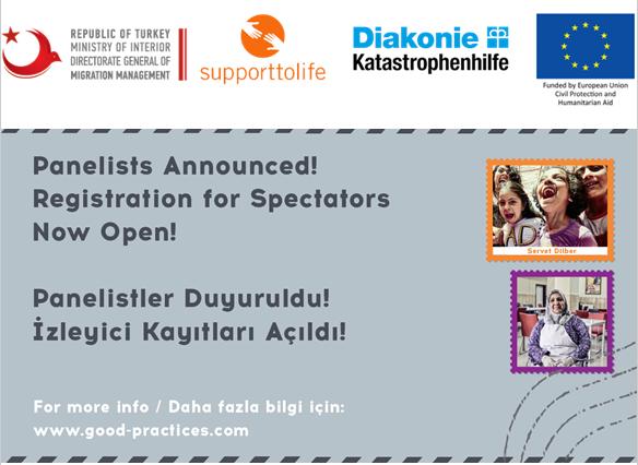 Panelist listesi yayınlandı, İzleyici kayıt formu açıldı: 'Karşılaş, Paylaş İlham Al' - Mülteci Alanında İyi Uygulamalar Uluslararası Konferansı 24-25-26 Eylül 2019, Ankara