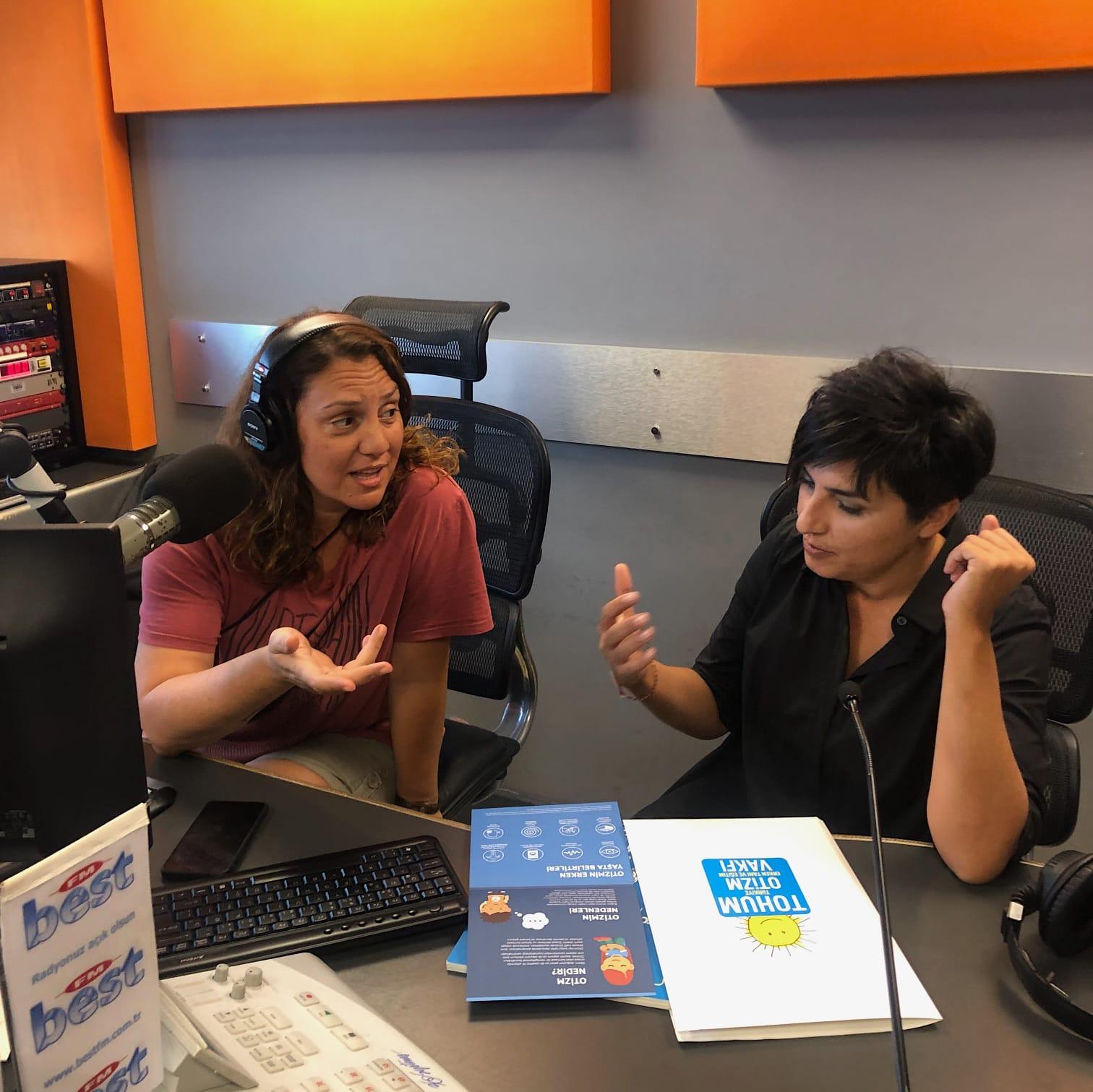 Otizmli Çocuklarla Girilen Diyalogdan Radyo Spotu