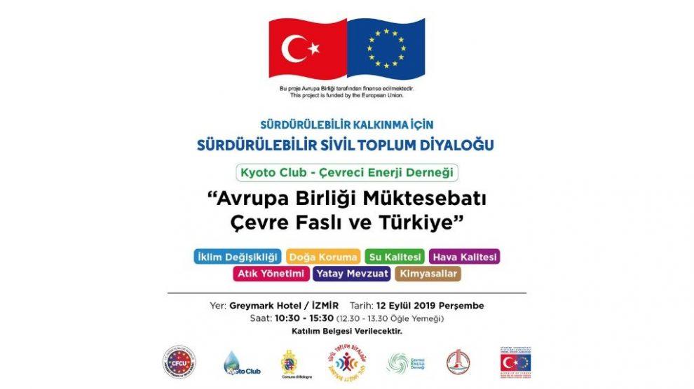 Avrupa Birliği Müktesebatı Çevre Faslı ve Türkiye Toplantısı
