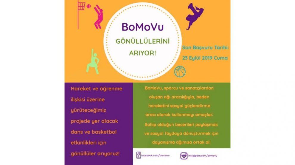 BoMoVu Gönüllüler Arıyor!