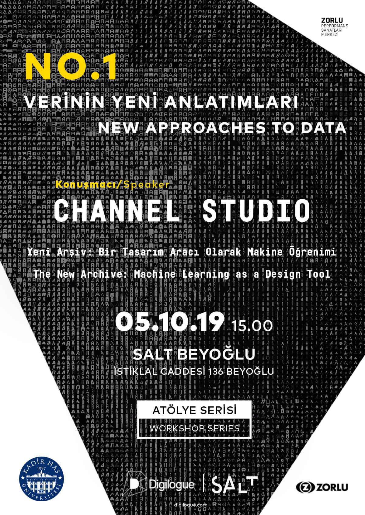 """Digilogue, SALT ve Kadir Has Üniversitesi işbirliğinde """"Verinin Yeni Anlatımları"""" Programı Başlıyor!"""