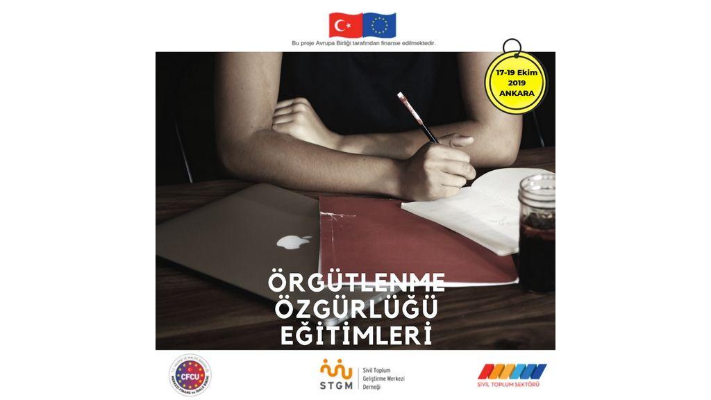 Katılım Hakkı ve Örgütlenme Özgürlüğü Projesi kapsamında Örgütlenme Özgürlüğü Eğitimi