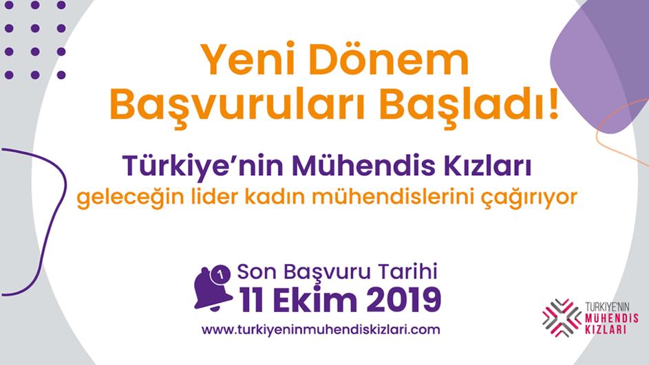 Türkiye'nin Mühendis Kızları Geleceğin Lider Kadın Mühendislerini Çağırıyor!