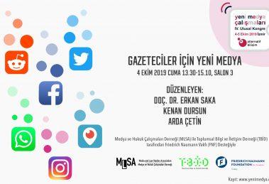 MLSA ve TBİD bu kez İzmir'de Gazeteciler İçin Yeni Medya Atölyesi Düzenliyor!