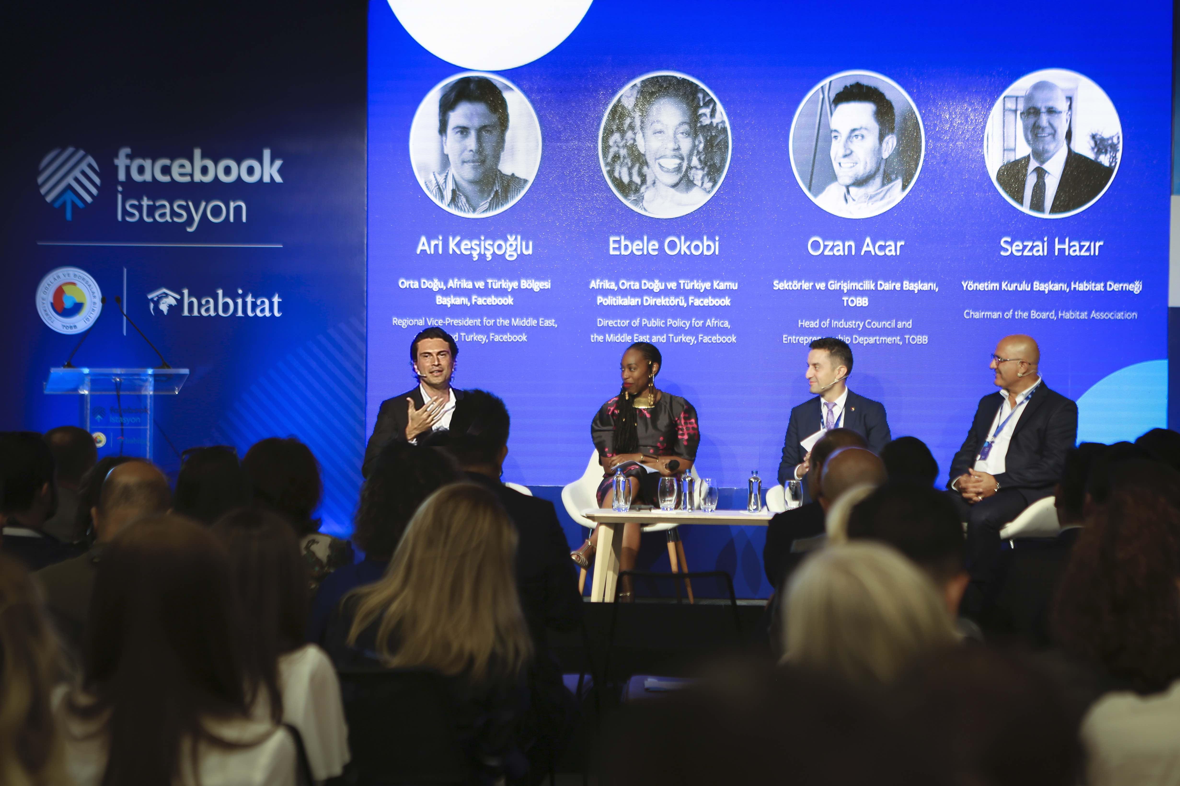 """Facebook, TOBB ve Habitat İş Birliğinde Türkiye'deki İlk Topluluk Merkez """" Facebook İstasyonu""""u Açıyor!"""