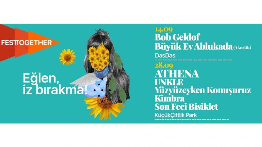 """Türkiye'nin ilk sürdürülebilir müzik festivali """"Festtogether"""" 14 Eylül'de DasDas'ta ve 28 Eylül'de KüçükÇiftlik Park'ta!"""