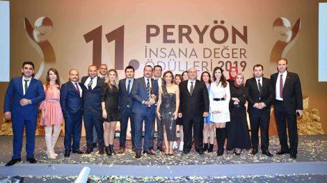 11.PERYÖN İnsana Değer Ödülleri Sahiplerini Buldu