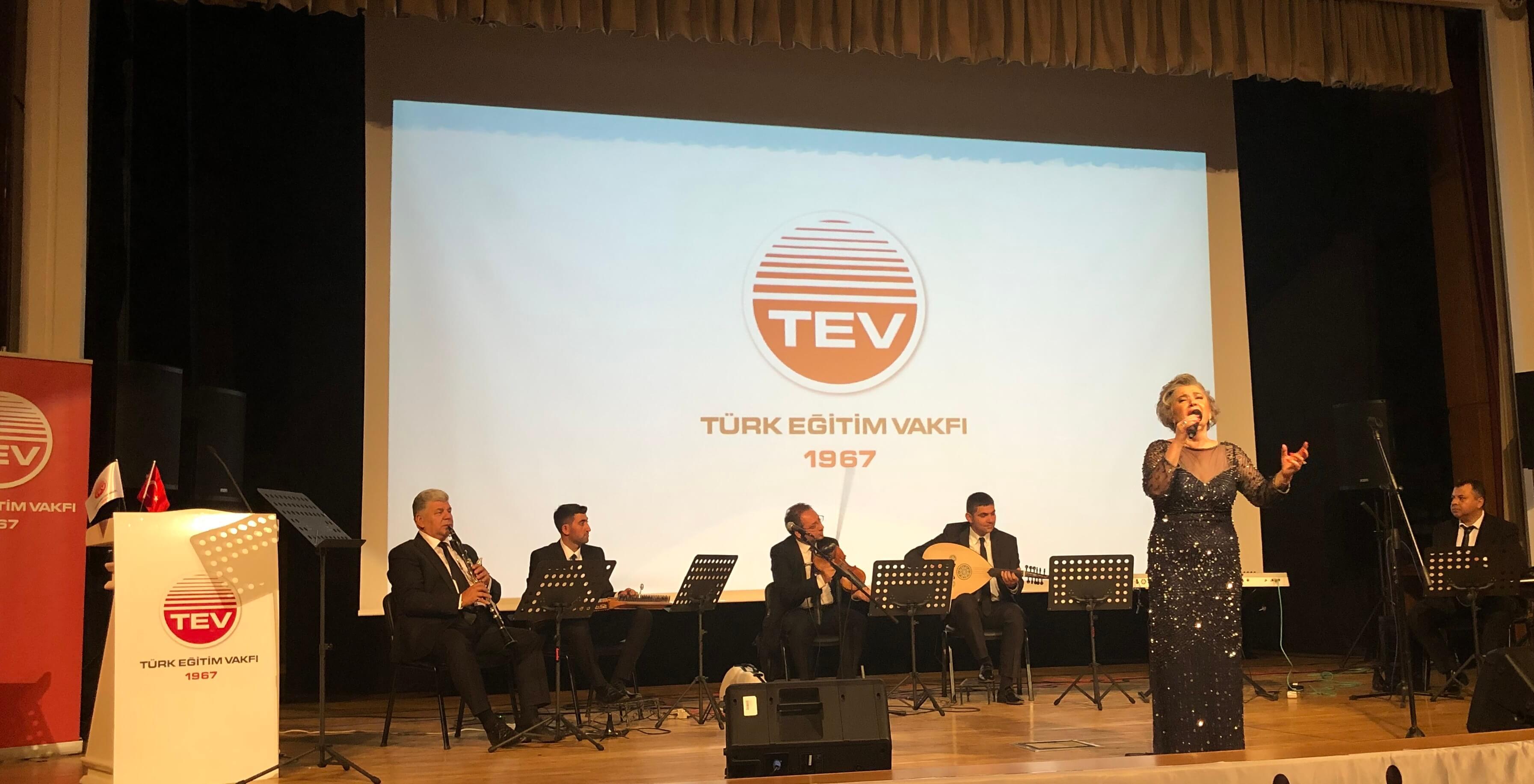 Türk Eğitim Vakfı Bağışçısı, Türk Müziği'nin Unutulmaz İsmi Safiye Ayla Kayseri'de Unutulmadı!