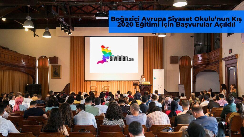 Boğaziçi Avrupa Siyaset Okulu'nun Kış 2020 Eğitimi İçin Başvurular Açıldı!