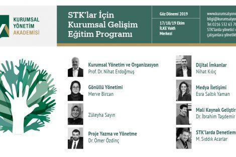 STK'lar İçin Kurumsal Gelişim Eğitim Programı