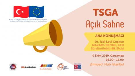 Sosyal girişimlerde sürdürülebilirliğin formülü nedir? #TSGA Açık Sahne İstanbul'da Dr. İzel Levi Coşkun anlatıyor!