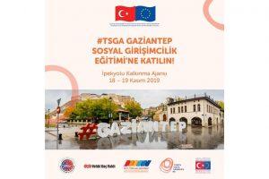 #Tsga Gaziantep Sosyal Girişimcilik Eğitimi'ne Başvurun!