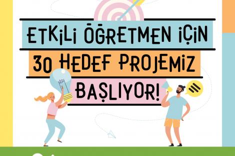 ÖRAV'dan Öğretmenlere Oyunlaştırılmış Proje: Etkili Öğretmenin 30 Hedefi